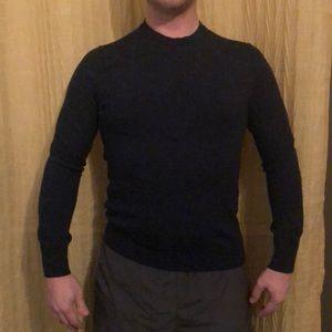 100% Merino Wool Navy Blue Sweater